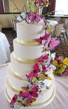loving the butterflies for Spring weddings