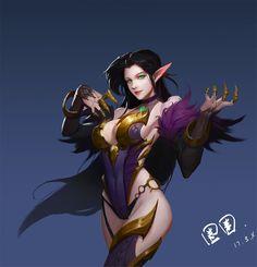 Fantasy Girl, Fantasy Female Warrior, Fantasy Art Women, Female Art, Fantasy Character Design, Character Design Inspiration, Character Concept, Character Art, Concept Art