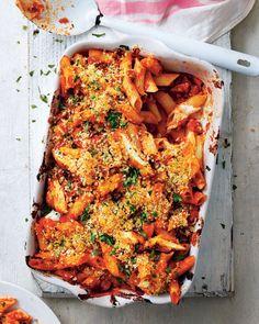 Pasta Recipes, Dinner Recipes, Cooking Recipes, Rice Recipes, Meat Recipes, How To Cook Pasta, How To Cook Chicken, Chicken Parmigiana, Italian Chicken Recipes