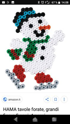 Iron beads winter – Famous Last Words Quilting Beads Patterns Easy Perler Bead Patterns, Melty Bead Patterns, Perler Bead Templates, Diy Perler Beads, Perler Bead Art, Beading Patterns, Christmas Perler Beads, Motifs Perler, Hama Beads Design