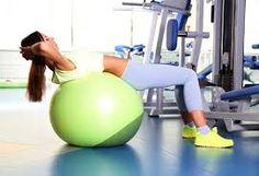 como criar músculos com bola suiça - Pesquisa Google