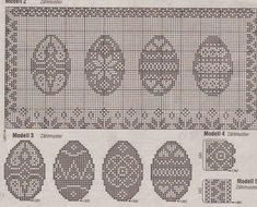 ŻYCIE SZYDEŁKIEM WYDZIERGANE: Wielkanocna zawieszka filet + schemat Filet Crochet Charts, Easter Cross, Cross Stitch Pictures, Easter Crochet, Doilies, Embroidery, Pattern, How To Make, Handmade