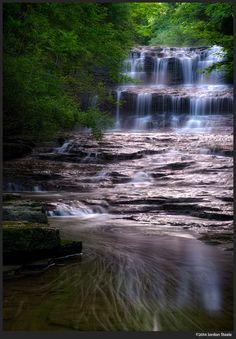 500px'te Jordan Steele tarafından Fallsville Falls in the Morning fotoğrafı