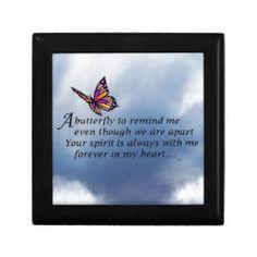 Butterfly Memorial Poem Tile   Zazzle.com Wooden Keepsake Box, Keepsake Boxes, Butterfly Poems, Funeral Poems, Memorial Poems, Losing A Loved One, Beautiful Lines, Sympathy Gifts, Condolences