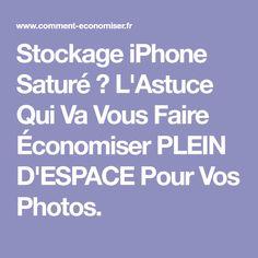 Stockage iPhone Saturé ? L'Astuce Qui Va Vous Faire Économiser PLEIN D'ESPACE Pour Vos Photos.