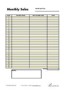 Ledger  Home Business    Business Free Printables And