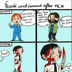 My Chemical Romance, Gerard Way, Frank Iero, Meme
