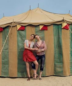 Anthropologie goes Cirque!