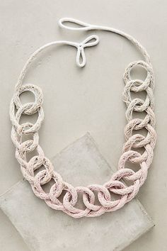 Ombre Loops Necklace #anthropologie