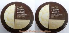 Hidratação (produto) - Manteiga Corporal Amêndoa com Colágeno - Muriel