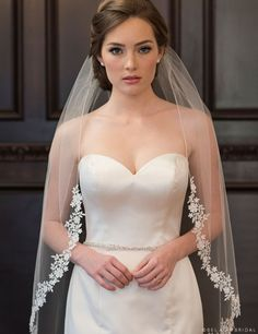 elegant updo wedding hairstyle with lace veil hairstyles updo with veil 15 Classic Wedding Hairstyles that Work Well with Veils - EmmaLovesWeddings Diy Wedding Veil, Ivory Lace Wedding Dress, Wedding Dress With Veil, Wedding Hair Down, Wedding Dresses, Veil Diy, Bride Veil, Wedding Cape, Wedding Ring