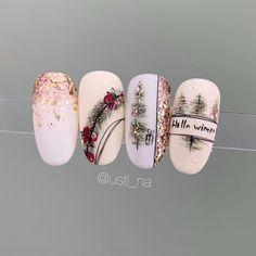 untitled coffee nails burgundy nails arrow nails homecoming nails shalac nails haloween nails nails prom natural acryl n. Christmas Nail Art Designs, Holiday Nail Art, Winter Nail Art, Winter Nails, Xmas Nail Art, Blush Nails, Pink Nails, Periwinkle Nails, Xmas Nails