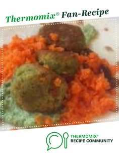 Mini Falafels, Carrot Salad and Green Tahini sauce by Kurtly25. A Thermomix <sup>®</sup> recipe in the category Main dishes - vegetarian on www.recipecommunity.com.au, the Thermomix <sup>®</sup> Community. Salad Places, Falafels, Tahini Sauce, Carrot Salad, Recipe Community, Carrots, Main Dishes, Vegetarian, Thermomix