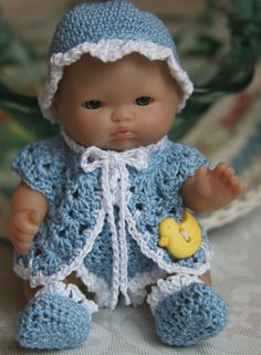 free crochet patterns for bitty baby doll clothes 155 best images about doll clothes knit crochet baby Crochet Doll Dress, Crochet Doll Clothes, Crochet Baby Shoes, Knitted Dolls, Doll Clothes Patterns, Doll Patterns, Crochet Dolls Free Patterns, Crochet Doll Pattern, Free Crochet