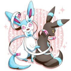 Pokemon // Sylveon & Umbreon