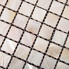 Mother of Pearl Tile Kitchen Backsplash Ideas Square Shell Mosaic Tiles Bathroom Wall and Floor Tile Kitchen Wall Tiles, Wall And Floor Tiles, Bathroom Wall, Kitchen Backsplash, Backsplash Ideas, Granite Backsplash, Beadboard Backsplash, Herringbone Backsplash, Kitchen Floor