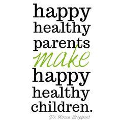 Inspiring Saturdays: Healthy Mom = Healthy Family ...