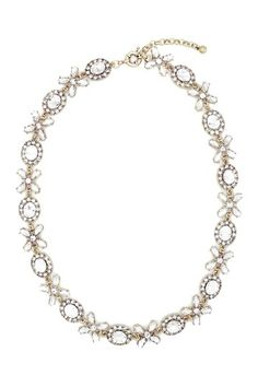 Golden Leaf Necklace by Eye Candy Los Angeles on @HauteLook