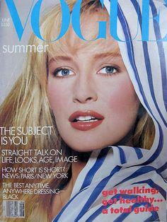 Estelle Lefebure  -  Vogue June 1987