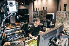 Deadmau5 In His Home Studio