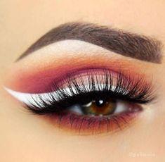 50d8f269bd5 cut crease african american #Wingedliner No Eyeliner Makeup, Eyeliner  Pencil, Top Eyeliner,