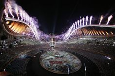Opening Ceremony of the 2004 Athens Olympic Games 2004 Olympics, Santiago Calatrava, Summer Dream, Athens Greece, My Land, Ancient Greece, Opening Ceremony, Olympic Games, Photo Galleries