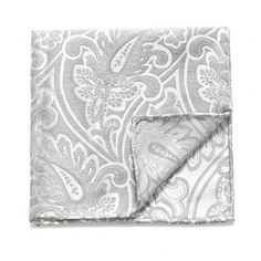 The Tie Bar  Paisley Pocket Square $24