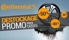 Découvrez les promo des pneus Continental chez 1001pneus.fr Promotion