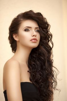 12 Best Hairstyles for Type 2 Curly Hair, braids hairstyles best long curly hairstyles 2018 Mexican Hairstyles, Long Face Hairstyles, Hairstyles For Round Faces, Hairstyles Haircuts, Curly Hair Styles, Long Curly Hair, Long Hair Cuts, Big Hair, Layered Haircuts