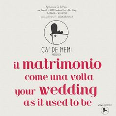 #cadememi #wedding #justmarried #veneto #italy  www.cadememi.it