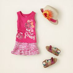 baby girl - outfits - pretty in pink | Children's Clothing | Kids Clothes | The Children's Place