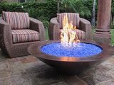 Outdoor GreatRoom Gas Crystal Fire Stainless Steel Burner Kit - contemporary - firepits - - by Hayneedle   I want this!!