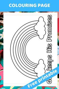 God keeps His Promises – Free printable Bible lesson for preschoolers - Trueway Kids Preschool Bible Lessons, Bible Activities For Kids, Bible School Crafts, Bible Crafts For Kids, Bible Study For Kids, Bible Lessons For Kids, Kids Bible, Primary Lessons, Preschool Worksheets