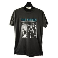 THE SMITHS tour t-shirt, Alternative Rock, Morrissey,English Rock... (€14) ❤ liked on Polyvore featuring tops, t-shirts, unisex t shirts, rock tops, unisex tees, unisex tops and rock t shirts