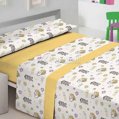 Bed Cover Design, Designer Bed Sheets, Yellow Throw Pillows, Bed Styling, White Decor, Quilt Cover, Bed Covers, Cheap Home Decor, Bed Spreads