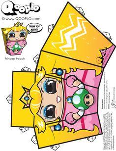 Princess Peach Cubeecraft