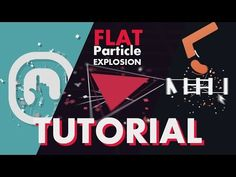 TUTORIAL - Flat Particle Explosion - Free Template download