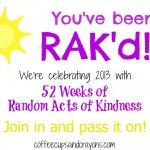 52 Weeks of Random Acts of Kindness