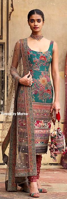 Sabyasachi Mukherjee : Winter Collection Photo by Tarun Khiwal. Sabyasachi Mukherjee : Winter Collection Photo by Tarun Khiwal. Winter Wedding Outfits, Indian Wedding Outfits, Indian Outfits, Indian Look, Indian Wear, Kurta Designs, Saree Blouse Designs, Dress Designs, Sabyasachi Suits
