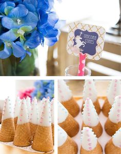 As long as we dream, there will be Unicorns! This simply dreamy unicorn themed party was styled my Amy of A Dazzle Day! Amy asked for a whimsical, magical party package that would have all of Mia&#…