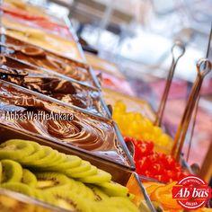 38 çeşit malzeme Abbas Waffle Ankara'da. Ankara, Waffles, Instagram Posts, Food, Essen, Waffle, Meals, Yemek, Eten