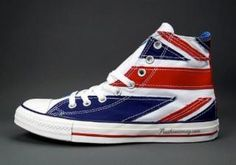 b31c54bed5da5c ConverseChuck Taylor All Star The Who  British Flag