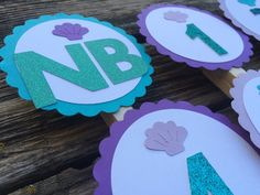 First Year Banner- Mermaid Party, Birthday Party, First Birthday by BlueOakCreations on Etsy https://www.etsy.com/listing/246466951/first-year-banner-mermaid-party-birthday