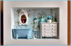 Quadro Cenario Banheiro Luxo