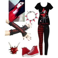 I can see me wearing all of this, except for the necklace.. the pants & shoes oh yeah!! The shirt too :)