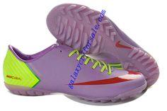 best website 88577 39a60 Hot Sale Cheap New Soccer Shoes 2013 Nike Mercurial Vapor X TF Boots - Plum  Red Fluorescent Green