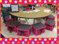New classroom, classroom themes, classroom design, kindergarten classroom, Classroom Layout, Classroom Setting, Classroom Design, Kindergarten Classroom, Future Classroom, School Classroom, Classroom Themes, Classroom Displays, Polka Dot Theme