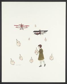 """Untitled"" by Marcel Dzama, 2003 - Tate Modern"