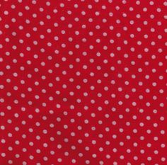 Flannel Crib Sheet Red w/White Dots by SewCuteSewFine on Etsy, $14.00