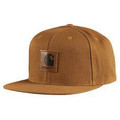 CARHARTT WIP Logo Starter Cap hamilton brown casquette snapback ajustable 6ced0fde3